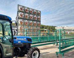 Eole Drift, banc d'essai innovant pour réduire la dérive de produits phytosanitaires en viticulture est médaille d'argent auxSITEVI Innovation Awards 2017, mercredi 29 novembre 2017 à Montpellier Irstea et l'Institut […]