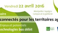 Ce séminaire AgroTIC aura lieu à Montpellier SupAgro le 22 avril. Jean-Pierre Chanet (Irstea Clermont-Ferrand) feraun état des lieux des principaux acteurs et des […]