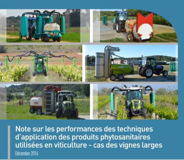Note sur les performances des techniques d application des - Chambre agriculture languedoc roussillon ...