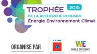 Le logiciel ACV4E d'Irstea est lauréat duTrophée de la Recherche Publique Energie-Environnement-Climat (ex-Prix des Techniques Innovantes pour l'Environnement), organisé chaque année par l'ADEME et Reed Expositions France.Ce trophée récompensedes travaux […]